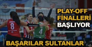PLAY-OFF  FİNALLERİ  BAŞLIYOR